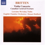 Bedford / Britten / English Chamber Orch - Britten: Violin Concerto CD Cover Art