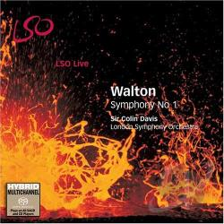 London Symphony Orch. - Walton: Symphony No. 1 CD Cover Art
