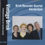 Brisk Recorder Quartet - Vintage Brisk CD Cover Art