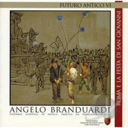 Branduardi, Angelo - Futuro Antico VI CD Cover Art