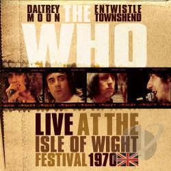 Who - Live at the Isle of Wight Festival 1970 CD Cover Art