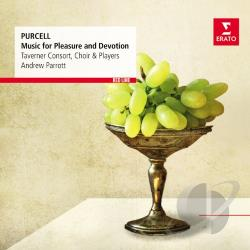 Parrott, Andrew - Purcell: Music for Pleasure and Devotion CD Cover Art