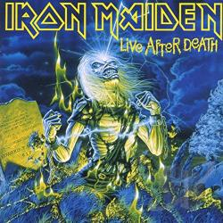 Iron Maiden - Live After Death CD Cover Art