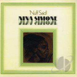 Simone, Nina - Nuff Said (LP Slv Replica) CD Cover Art
