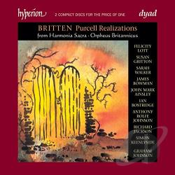Bowman / Britten / Gritton / Lott / Walker - Britten: Purcell Realizations CD Cover Art