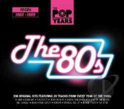 Pop Years: The 80s CD Cover Art