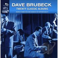 Brubeck, Dave - Twenty Classic Albums CD Cover Art