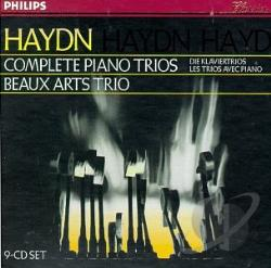 Beaux Arts Trio / Haydn - Haydn: Complete Piano Trios CD Cover Art