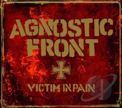 Agnostic Front - Victim in Pain CD Cover Art