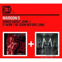Maroon 5 - Songs About Jane/It Won't Be Soon Before Long CD Cover Art