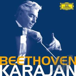 Karajan, Herbert Von - Beethoven CD Cover Art