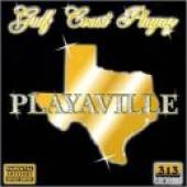 Gulf Coast Playaz - Playaville CD Cover Art