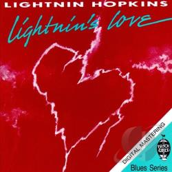 Hopkins, Lightnin' - Lightnin's Love CD Cover Art