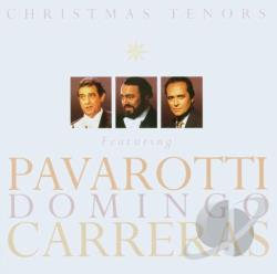 Three Tenors - Christmas Tenors CD Cover Art
