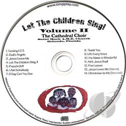Cathedral Choir - Vol. 2 - Let The Children Sing! CD Cover Art