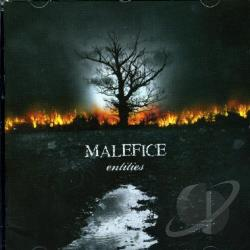 Malefice - Entities CD Cover Art