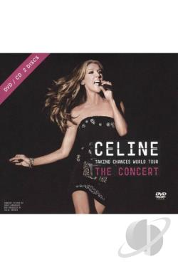 Dion, Celine - Taking Chances World Tour: The Concert CD Cover Art