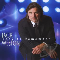 Weston, Jack - Easy To Remember CD Cover Art