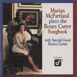 McPartland, Marian - Plays The Benny Carter Songbook CD Cover Art