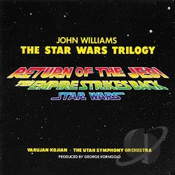 Star Wars Trilogy CD Cover Art