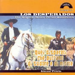 Ferrio, Gianni - Los Desperados / Quei Disperati CD Cover Art