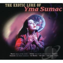 Sumac, Yma - Exotic Lure Of Yma Sumac CD Cover Art