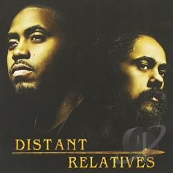Damian Junior Gong Marley / Nas - Distant Relatives CD Cover Art