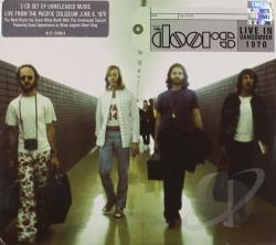 Doors - Live in Vancouver 1970 CD Cover Art