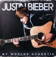 Bieber, Justin - My Worlds Acoustic CD Cover Art
