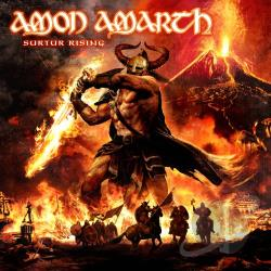 Amon Amarth - Surtur Rising CD Cover Art