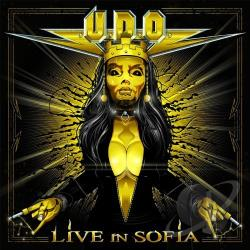 U.D.O. - Live in Sofia CD Cover Art