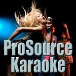 Prosource Karaoke - These Three Words (In The Style Of Stevie Wonder) [karaoke Version] - Single DB Cover Art