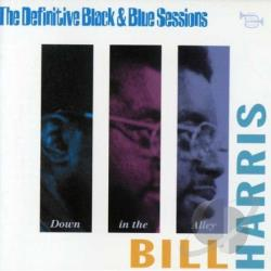 Harris, Bill - Difinitive Black & Blue Sessio CD Cover Art