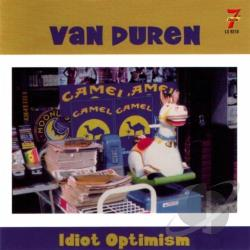 Duren, Van - Idiot Optimism CD Cover Art