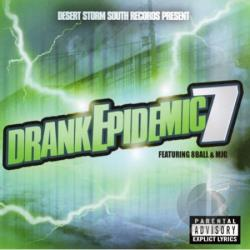 Storm, DJ - Desert Storm South Records Present: Drank Epidemic 7 CD Cover Art