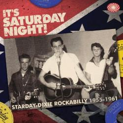 It's Saturday Night! Starday-Dixie Rockabilly 1955-1961 CD Cover Art
