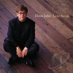 John, Elton - Love Songs CD Cover Art