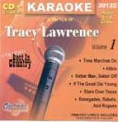 Lawrence, Tracy - Karaoke: Tracy Lawrence CD Cover Art