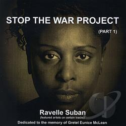 Suban, Ravelle - Stop the War Project ( Part 1) CD Cover Art