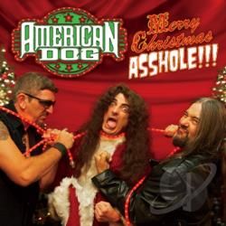 American Dog - Merry Christmas Asshole CD Cover Art