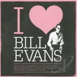 Evans, Bill - I Love Bill Evans CD Cover Art