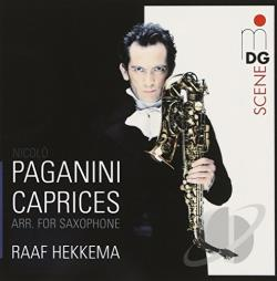 Hekkema / Paganini - Paganini: Caprices arr. for Saxophone CD Cover Art