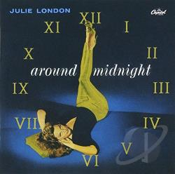 London, Julie - Around Midnight CD Cover Art
