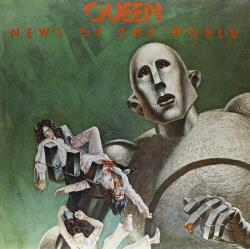 Queen - News of the World LP Cover Art