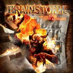 Brainstorm - On the Spur of the Moment CD Cover Art