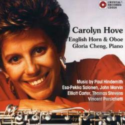 Hove, Carolyn - 20th Century Music for English Horn and Oboe CD Cover Art