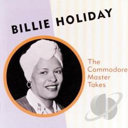 Holiday, Billie - Commodore Master Takes CD Cover Art