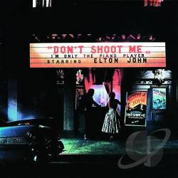 John, Elton - Don't Shoot Me I'm Only the Piano Player CD Cover Art