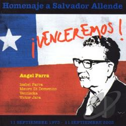 Isabel Y Angel Parra - Homenaje A Salvador Allende CD Cover Art