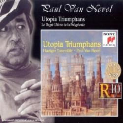 Huelgas Ensemble - Utopia Triumphans - The Great Polyphony CD Cover Art